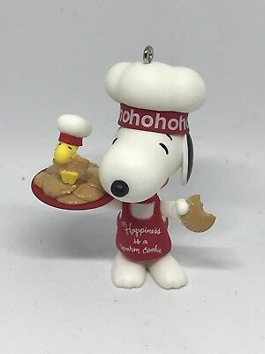 2010 HALLMARK DISNEY Happiness Is a Warm Cookie The PEANUTS Gang ORNAMENT