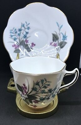 Royal Seagrave Fine Bone China Tea Cup And Saucer Made In England