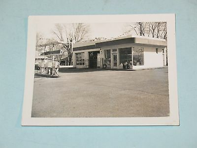 1950s photo, TOM & JERRYS CITGO GAS STATION, KNOXVILLE-TENN ~ NICE