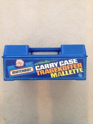 Matchbox Carry Case Tragekoffer Mallette With 24 Toys Included