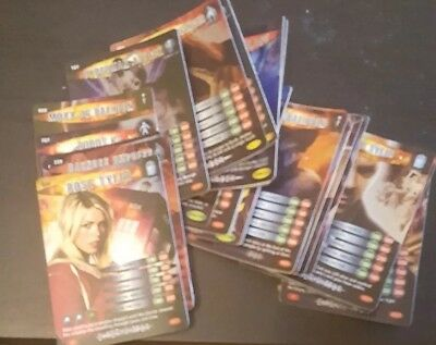 Doctor who battles in time cards - 45 Shiny Job Lot