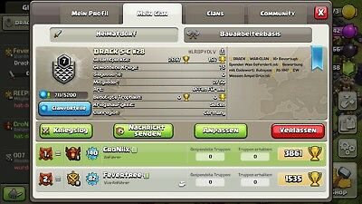 Clash of Clans clan LvL 7 !TOP!