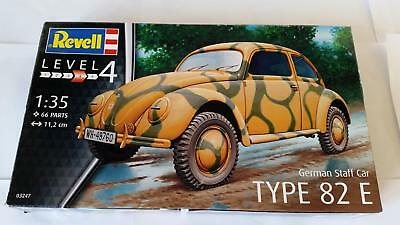 Revell 03247 German Staff Car Type 82 E Wehrmacht Volkswagen VW Käfer WWII 1:35