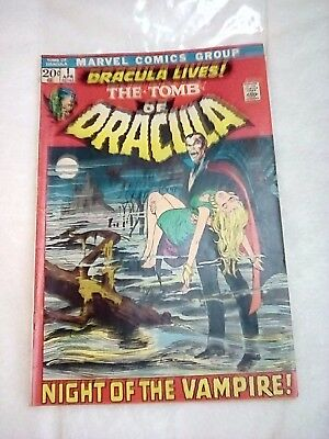 Marvel The Tomb Of Dracula #1 Dracula Lives-Awesome