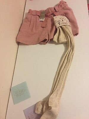 Bnwt Girls Shorts And Tights 11years NEXT