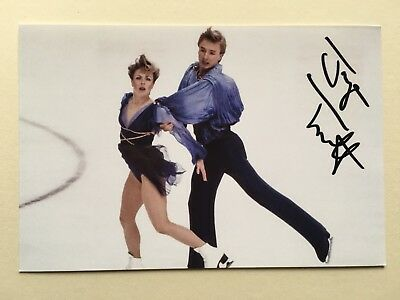 "Ice Skating Jane Torvill signed 6"" x 4"" photograph"