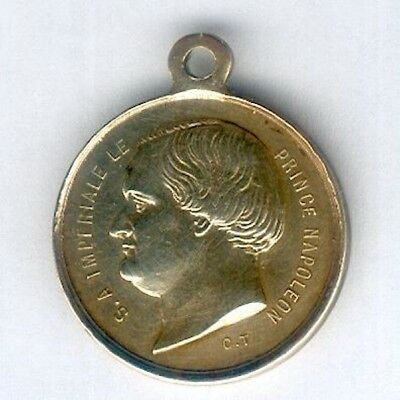 FRANCE.  Medal Commemorative of the Prince Napoleon and Princess Marie Clotilde