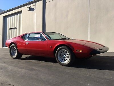 1973 De Tomaso Other L 1973 De Tomaso Pantera L Low Miles Numbers Matching
