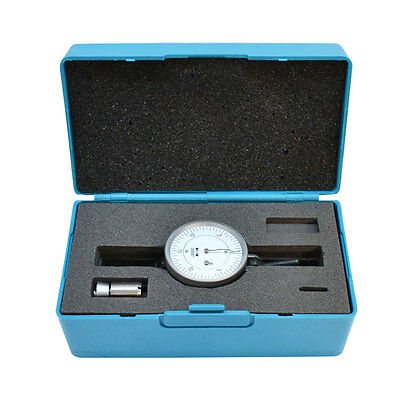 """Swiss Type Vertical Dial Test Indicator .0005 Graduation 0-0.060"""" Dovetail"""
