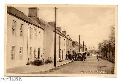 Malin Town, Co Donegal, Ireland, Black and White Postcard, 1944
