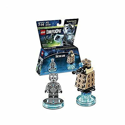 Toys-Lego Dimensions: Fun Pack - Doctor Who - Cyberman /Video Game Toy  GAME NEW