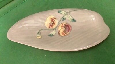 Shorter & Son Hand Painted Dish with Pansy Decoration