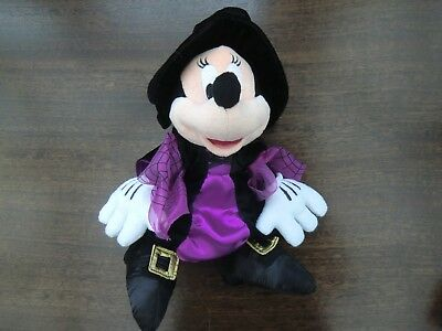 Disneyland Paris Halloween Minnie plush