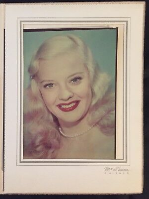 Mary Hartline, Photo By McShane,Chicago, Personally Autographed To Buyer