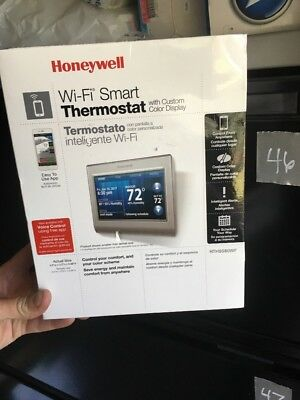 Honeywell RTH9580WF1005, Wi-Fi Smart Thermostat with Custom Color Display