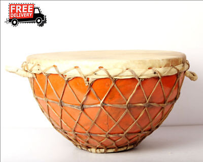 Musical Instrument Handmade Professional Traditional Indian Nagada Drum Musical