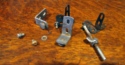 Wurlitzer 1100 Jukebox Encore Selector Mounting Brackets