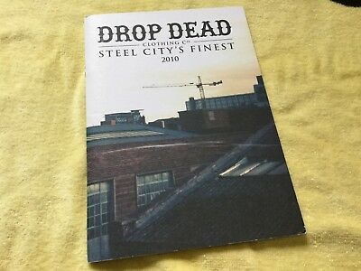Drop Dead Clothing Winter 2010 Look Book New Limited Edition Oli Sykes