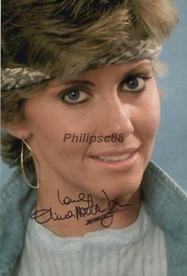 "Olivia Newton-John Genuine signed 12x8"" photograph"