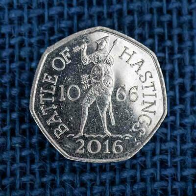 Commemorative 50p pence Coin, Battle of Hastings 2016