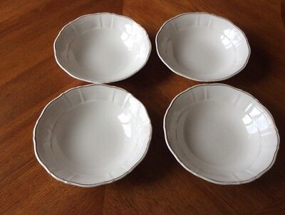 """4 x Royal Doulton """"Hallmark"""" Fruit/Cereal Dishes"""