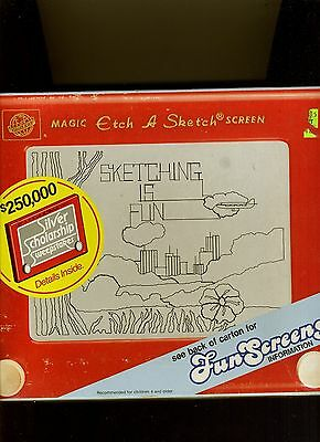 Vintage Etch A Sketch-Ohio Art 505T-1985-V Rare New In Sealed Original Box