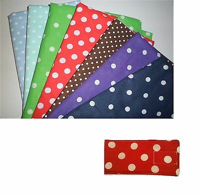 Male Dog Belly Bands for dog marking, all sizes, dipers nappies DOTTY PRINT