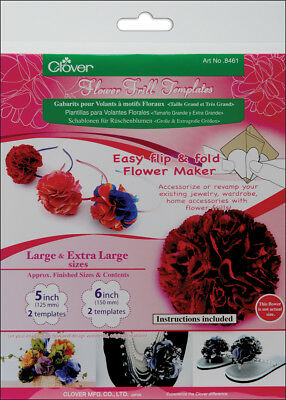 Flower Frill Templates Large & Extra Large 8461