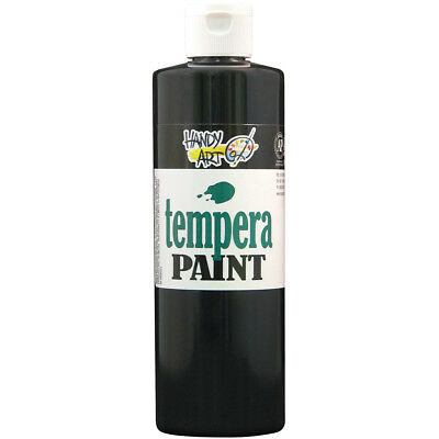 Handy Art Tempera Paint 16oz Black 201-055