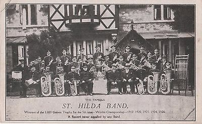 The Famous St Hilda Brass Band  South Shields Colliery World Champions