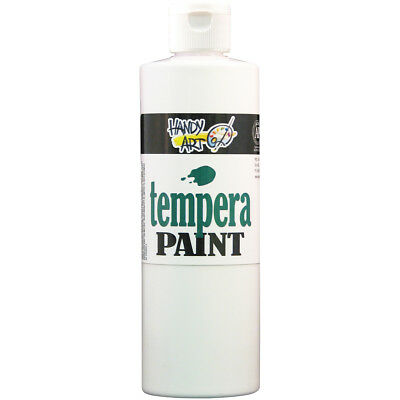 Handy Art Tempera Paint 16oz White 201-005
