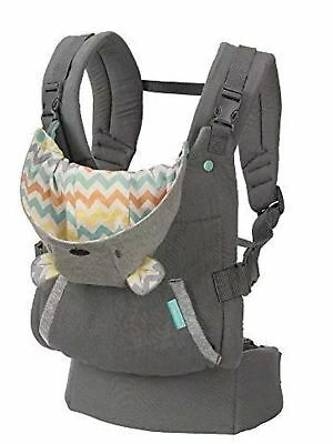 Infantino Cuddle Up Ergonomic Hoodie Carrier Grey NEW IN BOX Baby Carry