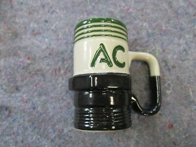 Vintage Ac Delco Spark Plug 3D Green Black Coffee Mug Mechanic Rare