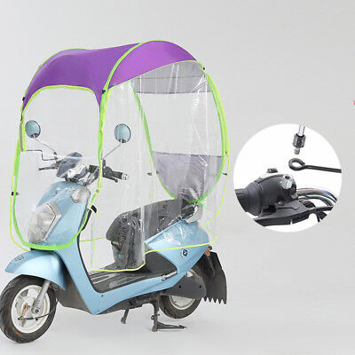New Motor Scooter Umbrella Universal Car Safe Mobility Rain Sun Shade Cover