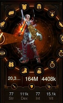 PS4 DIABLO 3 RoS legally rare SOFTCORE & HARDCORE items pack