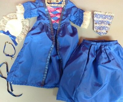 American Girl Doll Christmas Gown and Stomacher AKA Felicity's Holiday Gown