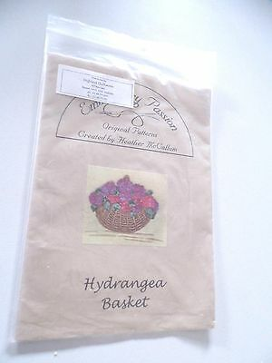 Highland Quiltworks Ribbon & Thread Hydrangea Pattern Ex Display