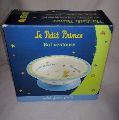 Le Petit Prince Little Prince Bowl suction cup French New in Box draw me a sheep