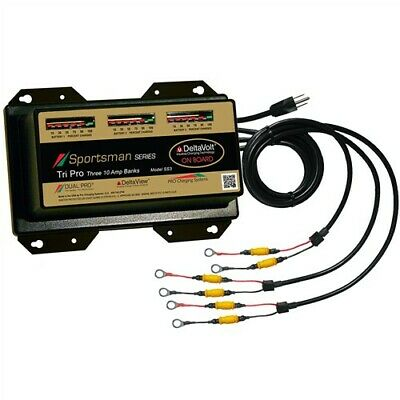 Dual Pro SS3 Battery Charger 3 Bank 30 Amps