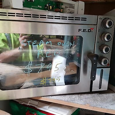 FED steam oven  240v  New  $299 inc postage