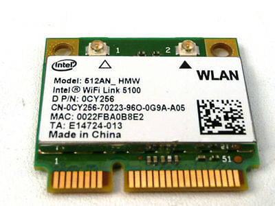 Dell Inspiron Wireless N Card 1370 1428 1440 1470 1545 1570 1750 Dual Band WIFI