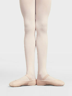 Capezio Daisy Premium leather ballet shoe, CHILDREN'S sizes, full sole, beginner