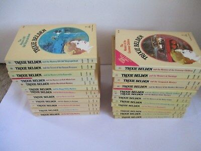 BULK LOT  x24 TRIXIE BELDEN BOOKS CAMEO SC BOOKS#