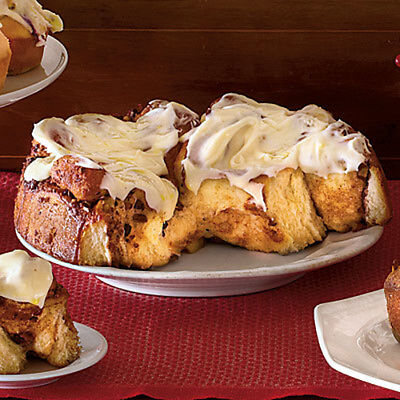 resep  Cinnamon Rolls with Cream Cheese Icing resep in pdf