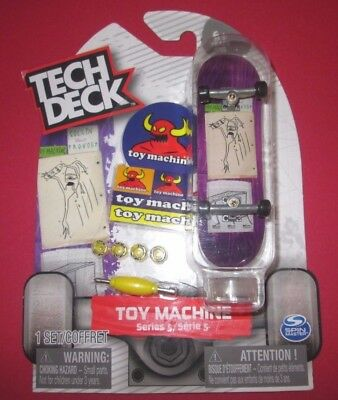 TECH DECK Toy Machine Series 5 Finger board Display Stand