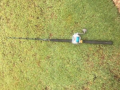 """Fishing Rod and Reel Combo Latitude SDT15 8 Bearing System with 5'6"""" Slazerger"""