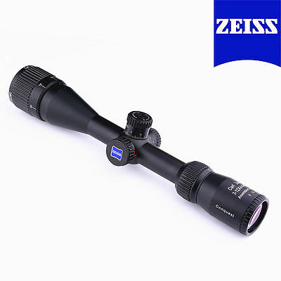 Carl Zeiss Rifle scope 3-12x44 R&G illuminated with 11or20mm rings FREE SHIPPING