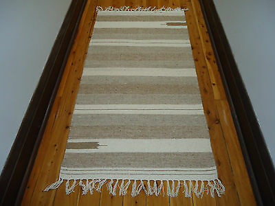 Rug Runner No 3. Light Tones