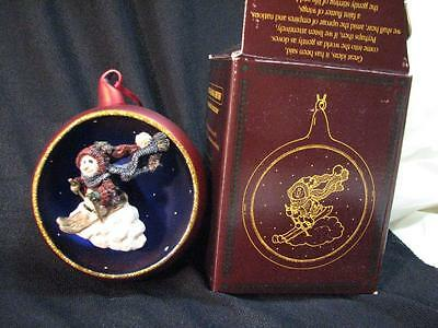 Boyds Bears & Friends Folkstone Jacques Starlight Skier Christmas Ornament 1997