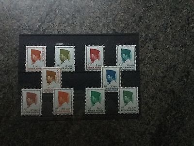 Stamps From The Republik Of Indonesia